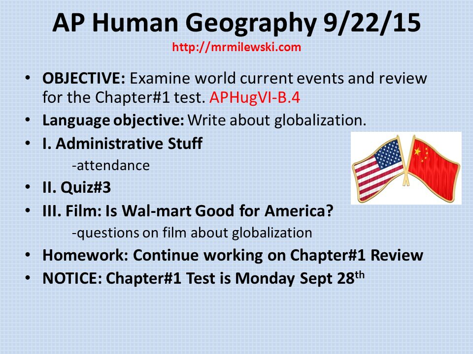AP Human Geography Week 3 Ppt Video Online Download