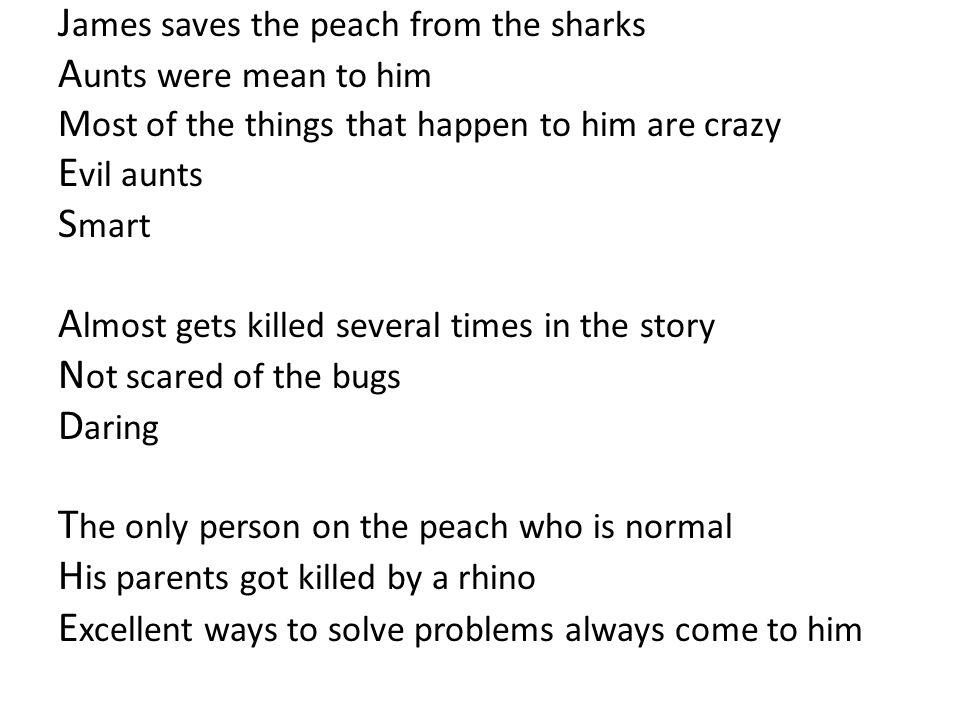 shark poem roald dahl