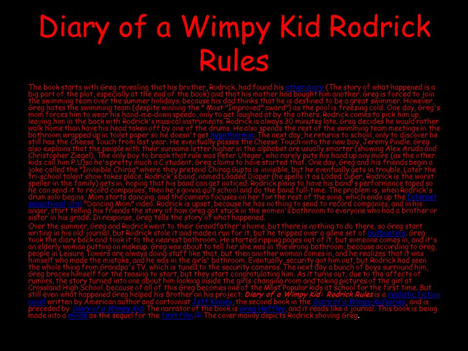 Jeff Kinney Diary Of A Wimpy Kid Books Ppt Video Online Download