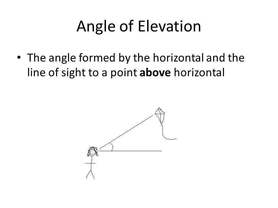 9 3 Angles Of Elevation And Depression Ppt Video Online Download