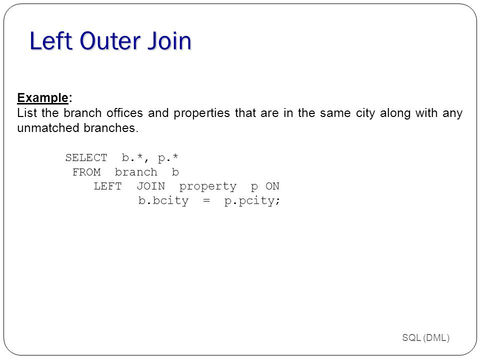 Chapter 8 Introduction To Sql Ppt Download