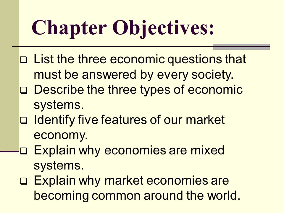 explain how economic systems attempt to 2a explain how economic systems attempt to allocate and make effective use of resources we have 3 types of economy system : - market economy - command economy - mixed economy  market economy: based on private companies, a lot of decisions based on market mechanism.