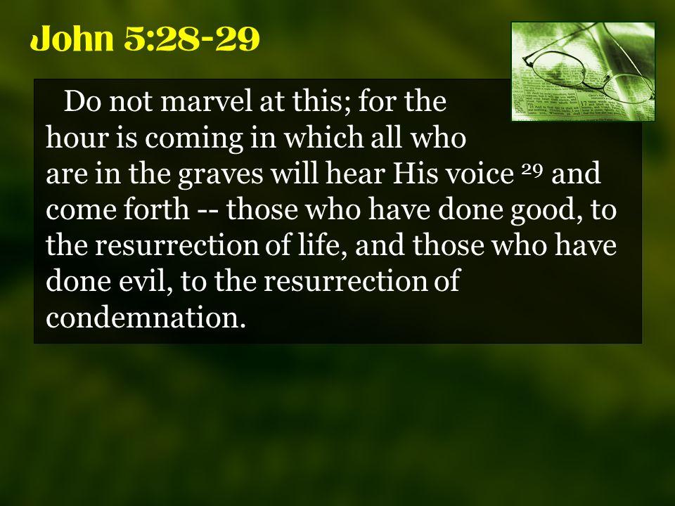 Kuvahaun tulos haulle John 5:28-29