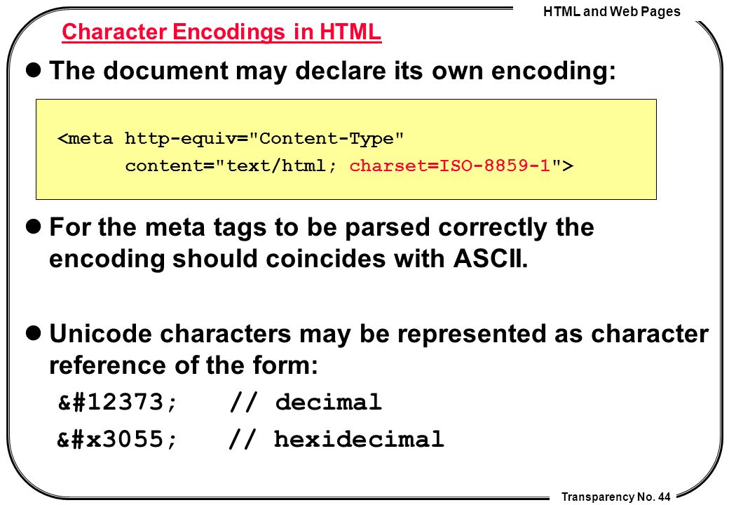 Html And Web Pages Cheng Chia Chen Ppt Video Online Download