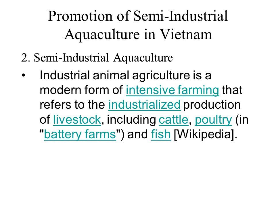 Promotion of Semi-Industrial Aquaculture in Vietnam - ppt video