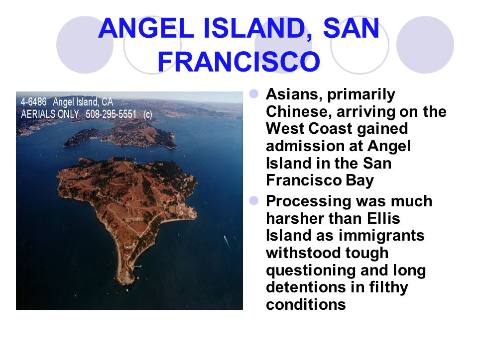 ANGEL ISLAND, SAN FRANCISCO