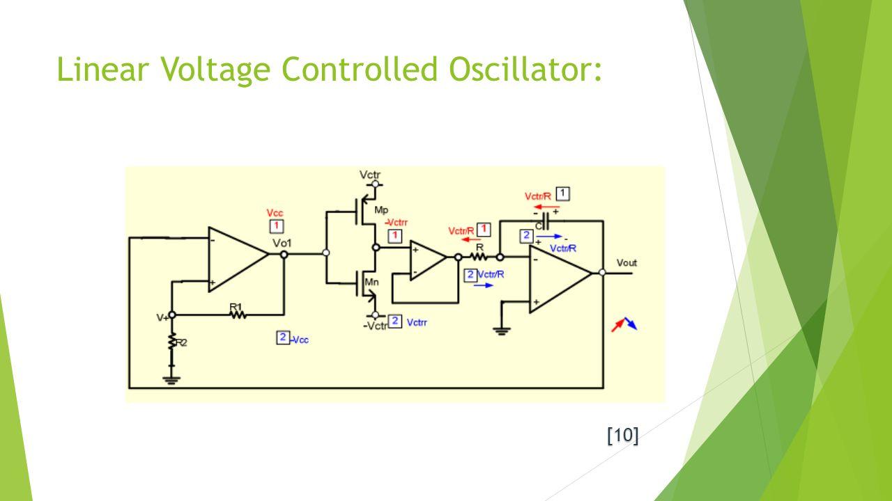 Voltage Controlled Oscillators Ppt Video Online Download Variable Gain Amplifier 1 Linear Oscillator