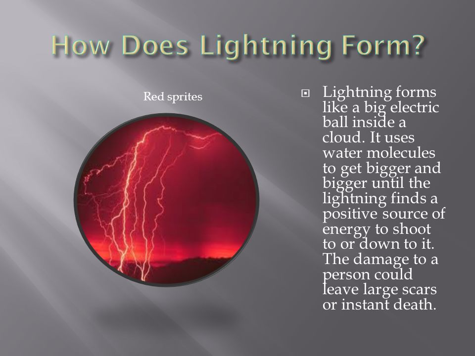 lightning by charlie g. - ppt download
