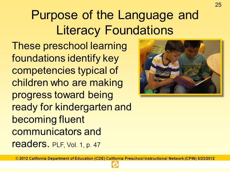 Language and literacy foundations framework ppt download purpose of the language and literacy foundations fandeluxe Choice Image