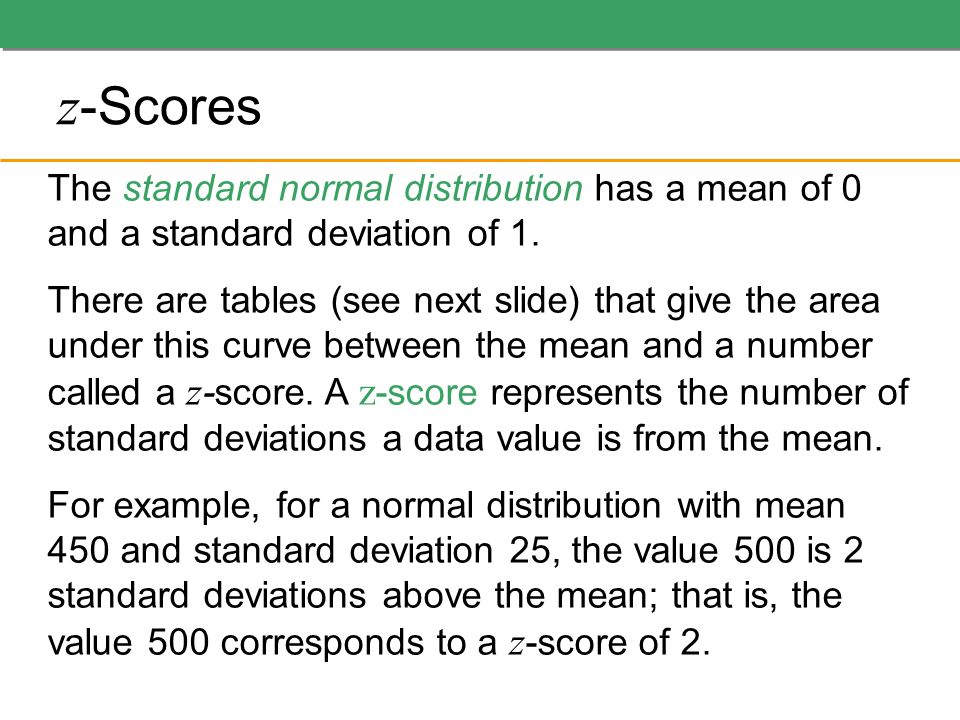 how to find mean with z scores and standard deviation
