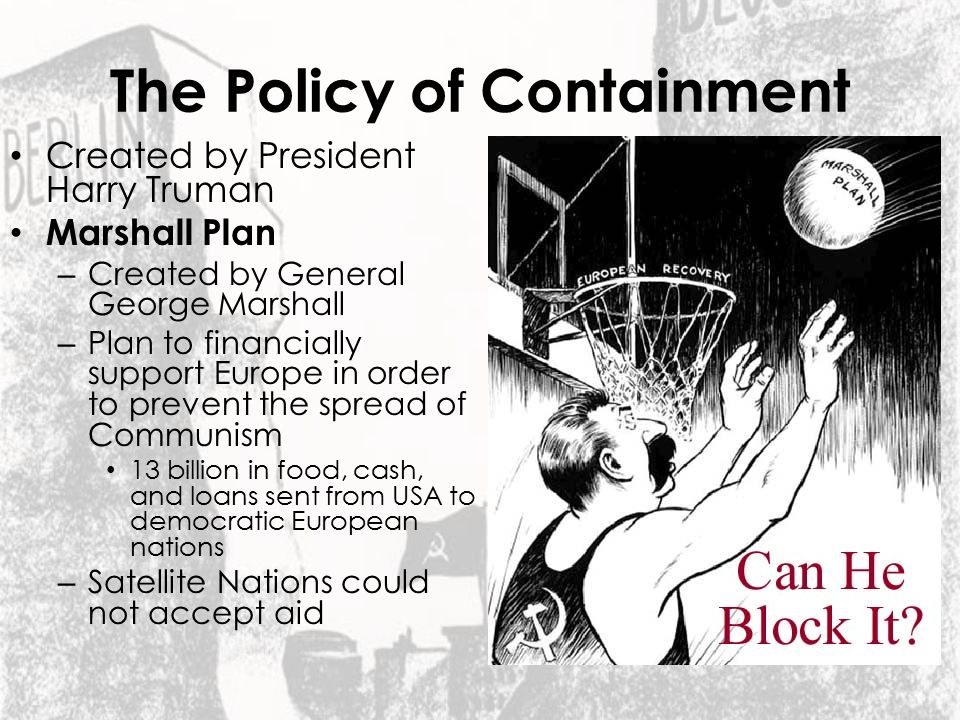 The Policy of Containment