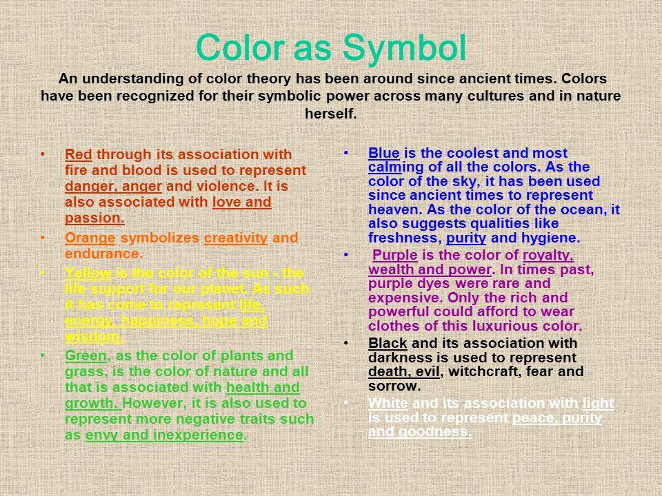 Color Theory Light Symbol Emotion Ppt Download
