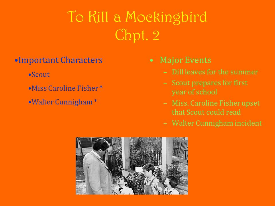 who are the main characters of to kill a mockingbird