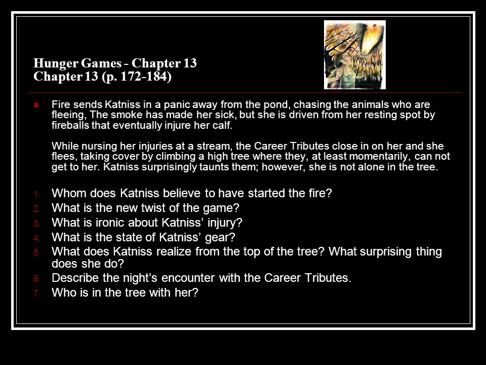 The Hunger Games Questions by Chapter  - ppt download