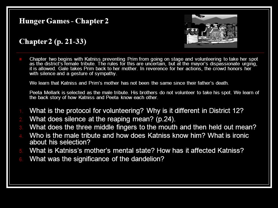 the hunger games summary Summary of the hunger games the book hunger games, written by suzanne collins, is a fictional story based in the future about an event in which cities (districts) participate annually by the coercion of the capitol.