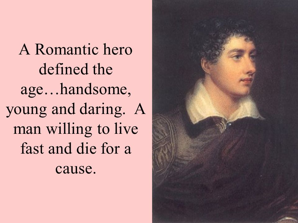 define romantic hero