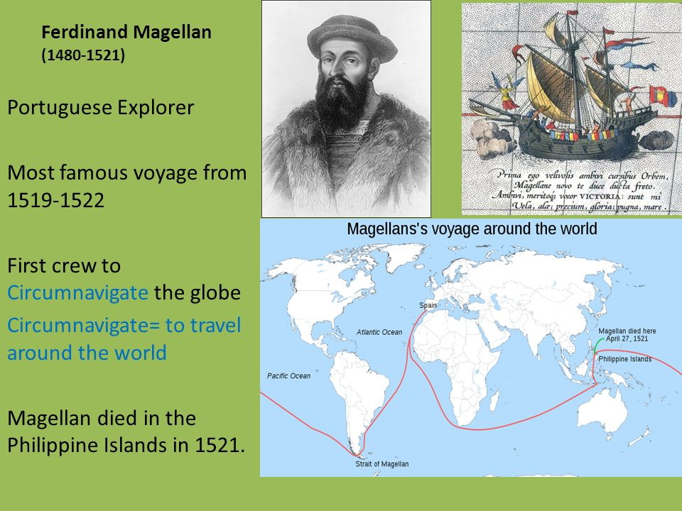 who was the first explorer to circumnavigate the globe