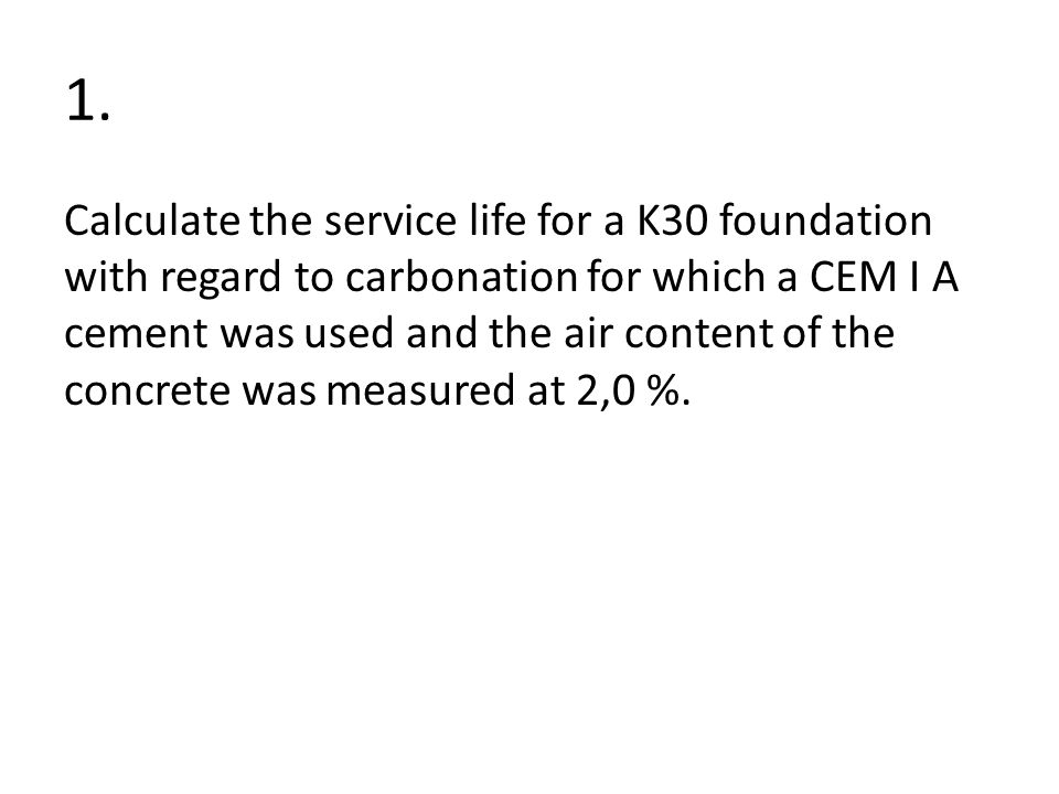 Estimation of service life-span of concrete structures - ppt download