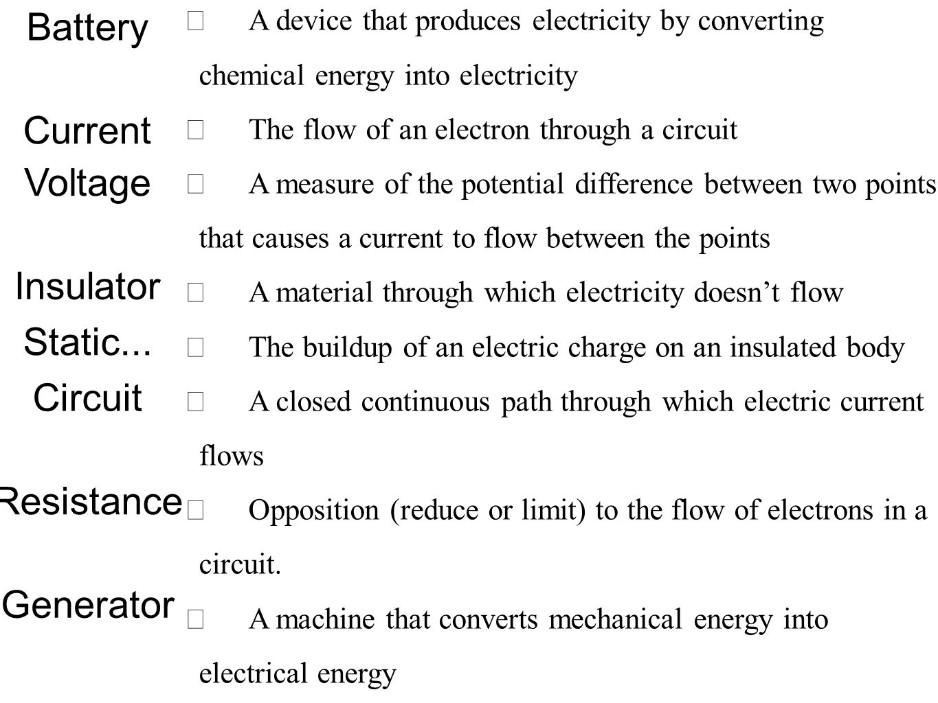 Astounding An Electrical Circuit Quiz Board Basic Electronics Wiring Diagram Wiring Cloud Tobiqorsaluggs Outletorg