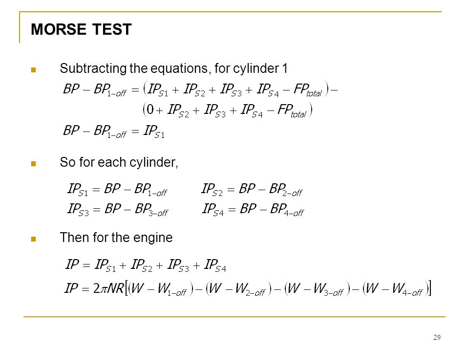 Topic: measurement & testing of i. C. Engine. Ppt download.