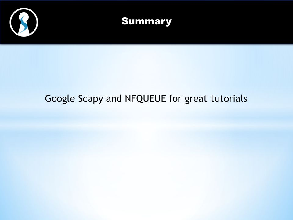 Easy Traffic Manipulation Techniques Using Scapy - ppt video online