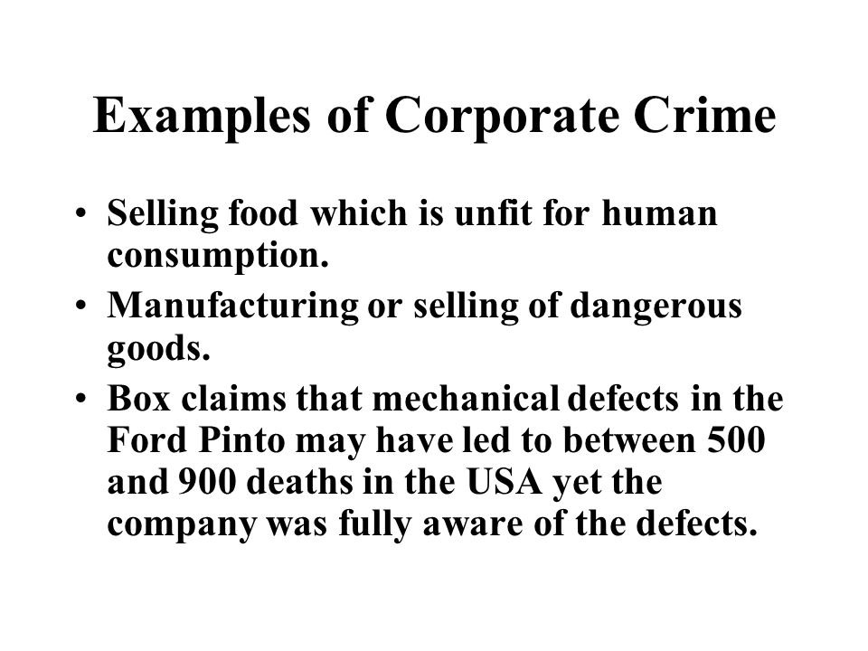 white-collar crime edwin sutherland (1949) defined white- - ppt