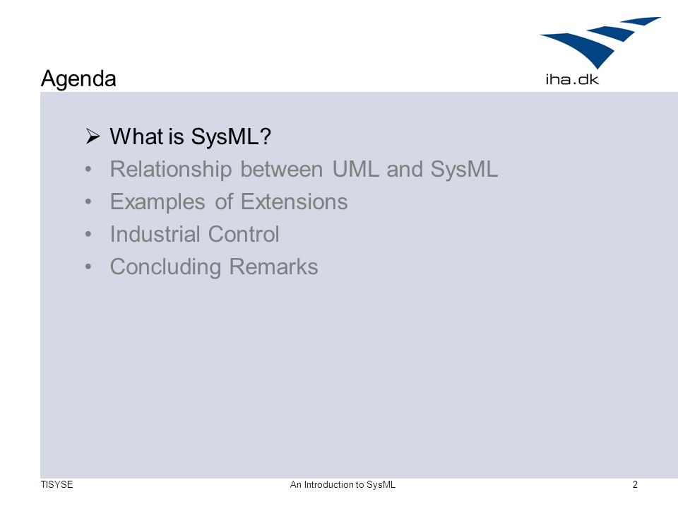 Ndia 10th annual systems engineering conference sysml tutorial.