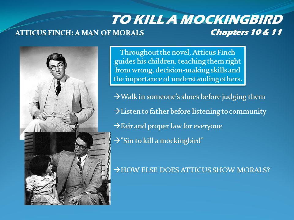 to kill a mockingbird moral