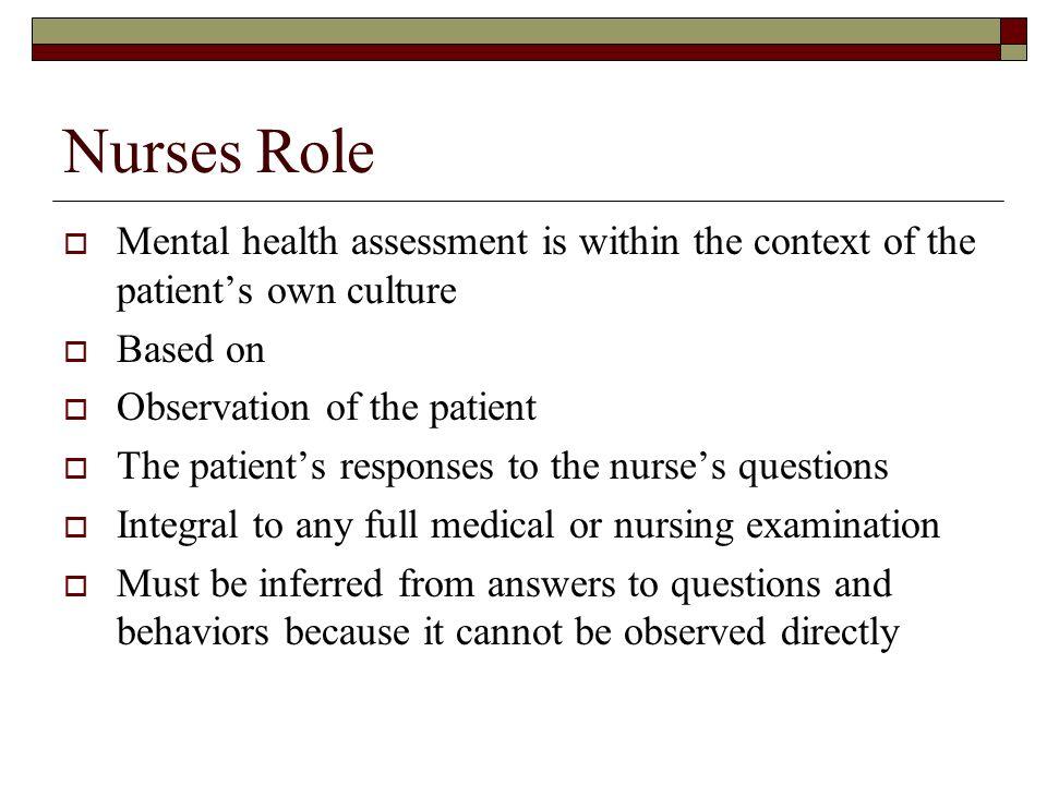 Mental Status Assessment Ppt Video Online Download