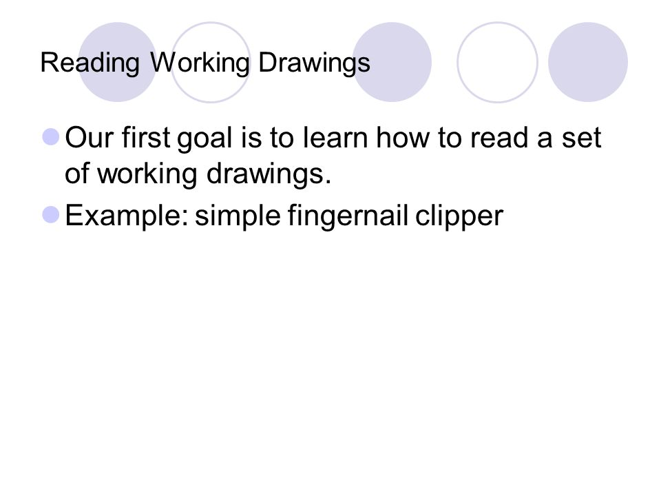 Introduction To Engineering Reading Working Drawings Ppt Video