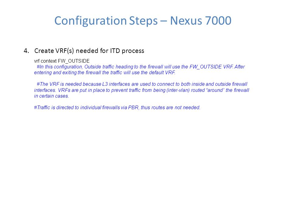 ITD + ASA 5585-X Configuration Guide - ppt download