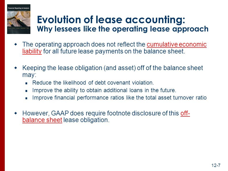 how to turn finance lease and operating lease