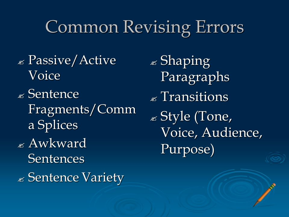 How To Revise Proofread And Edit The Efficient Way Ppt