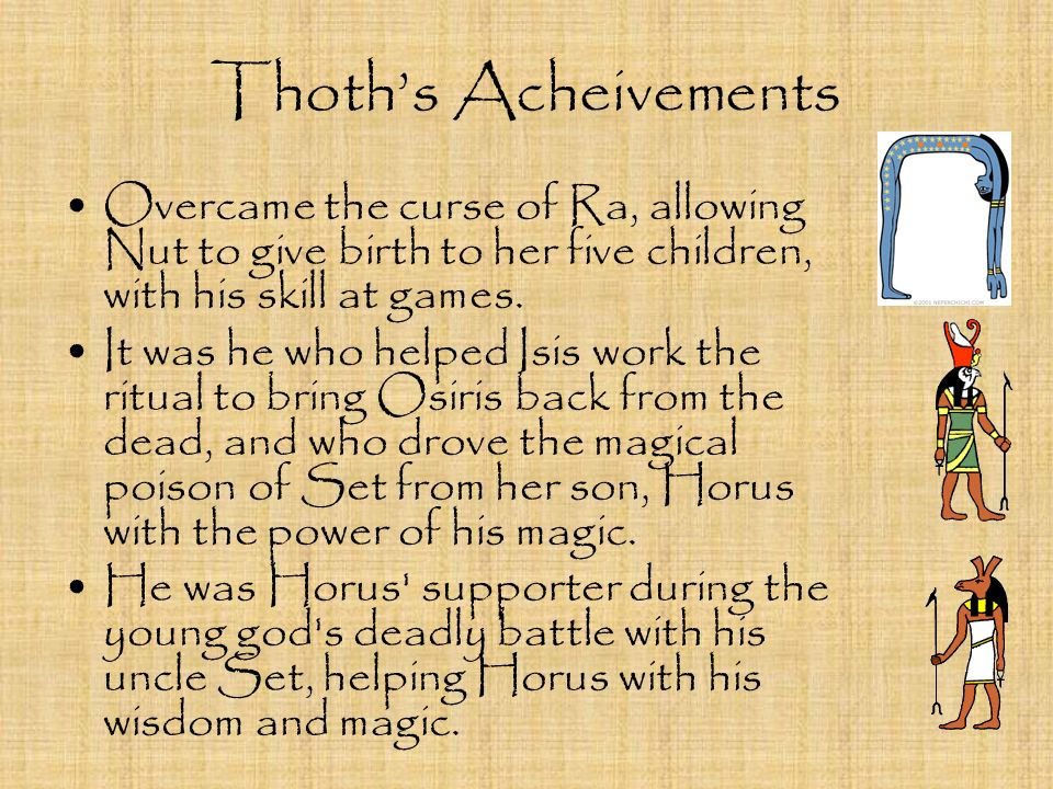THOTH by Scott Milch  - ppt video online download