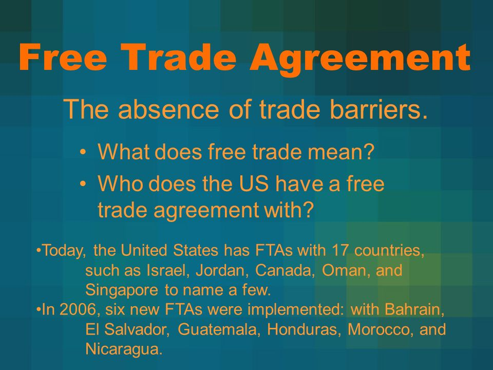 Trade Trade Barriers Ppt Download