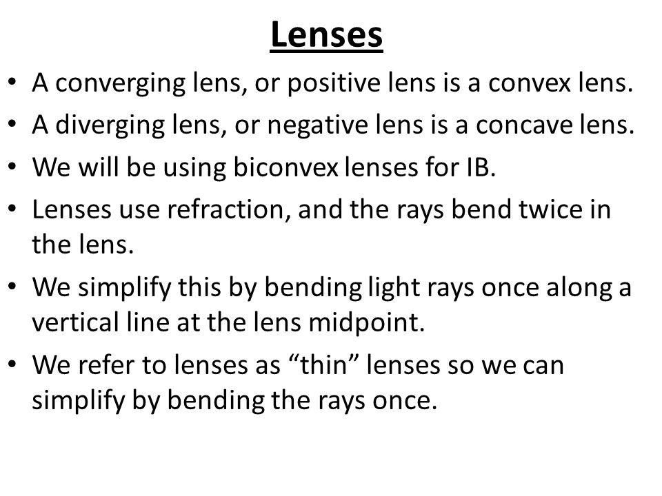 Lenses. - ppt video online download
