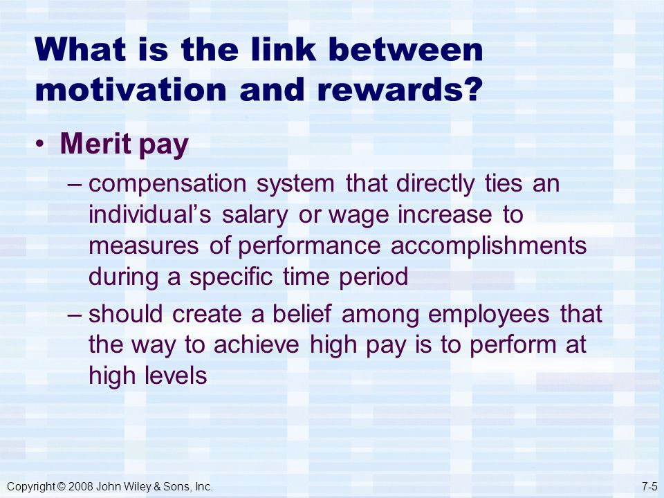 how effective performance management is linked to motivation