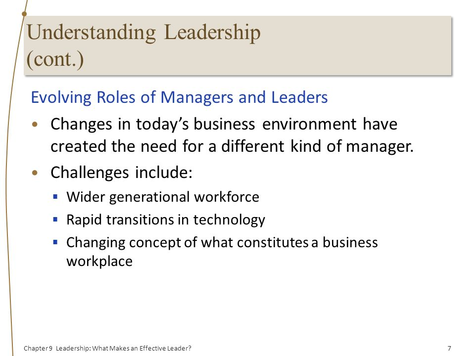 Leadership: What Makes an Effective Leader? - ppt video