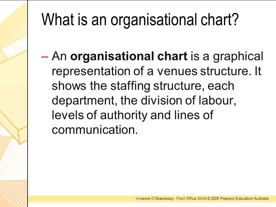 Introduction to front office ppt video online download what is an organisational chart altavistaventures Choice Image