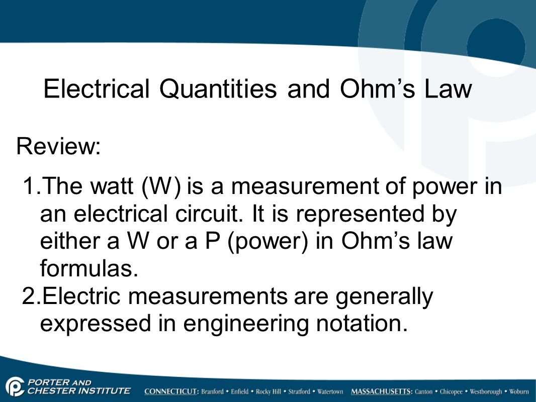 Electrical Quantities Ppt Video Online Download Measurements In Electric Circuits 30