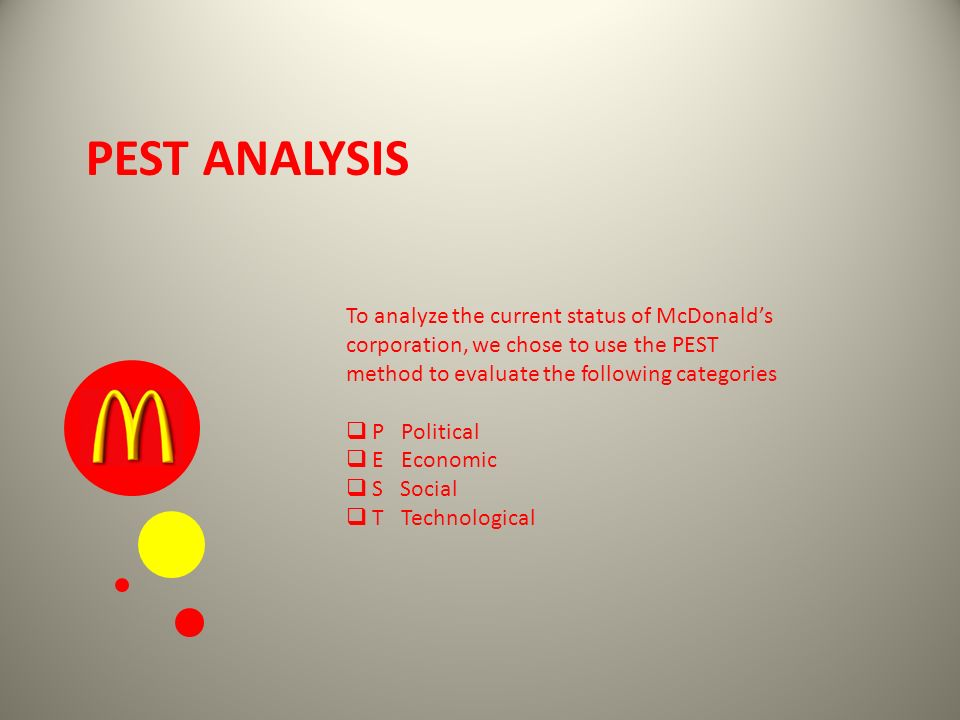 mcdonald case analysis marketing essay Unit vii case study complete the assurance of learning exercise 10a on page 326 of the textbook you will be asked to analyze and to compare and contrast the code of ethics of both starbuck's and mcdonald's.