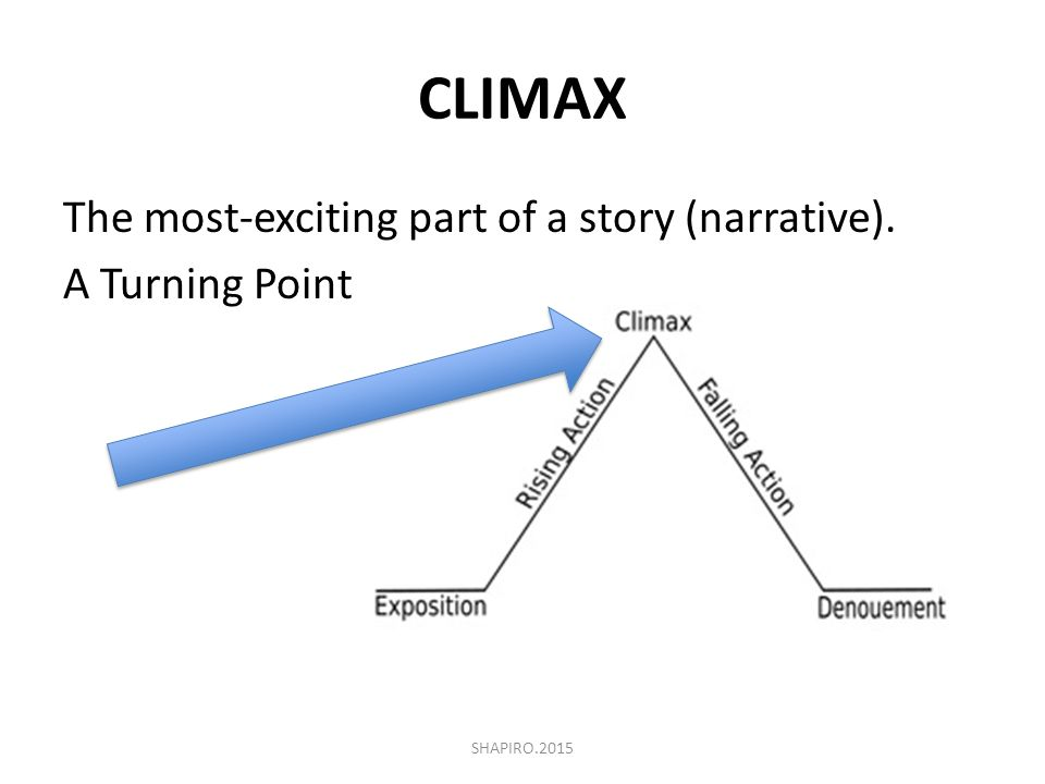 A short narrative reading skill sheet review ppt video online download climax the most exciting part of a story narrative a turning point ccuart Images