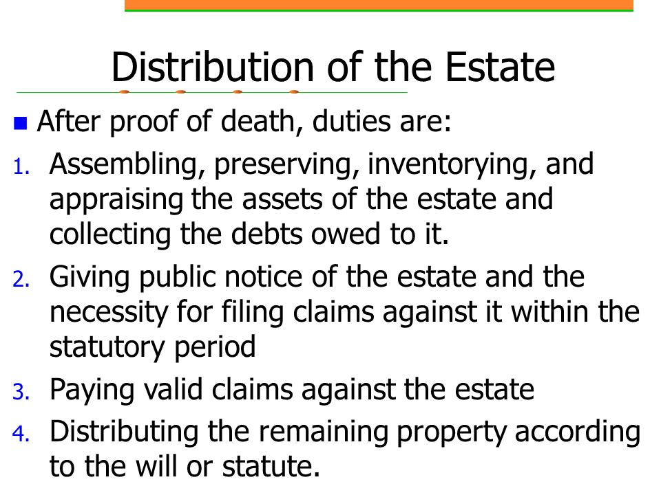 Chapter 24 Wills, Estates, and Trusts - ppt video online download