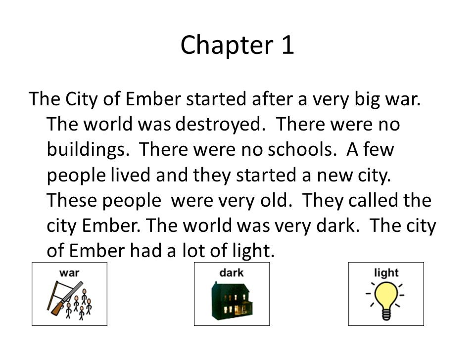 City of ember by jeanne duprau ppt video online download 2 chapter ccuart Images