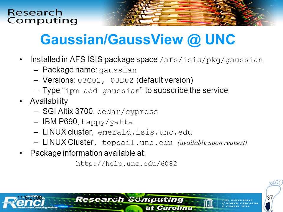 Introduction to Gaussian and GaussView - ppt video online download