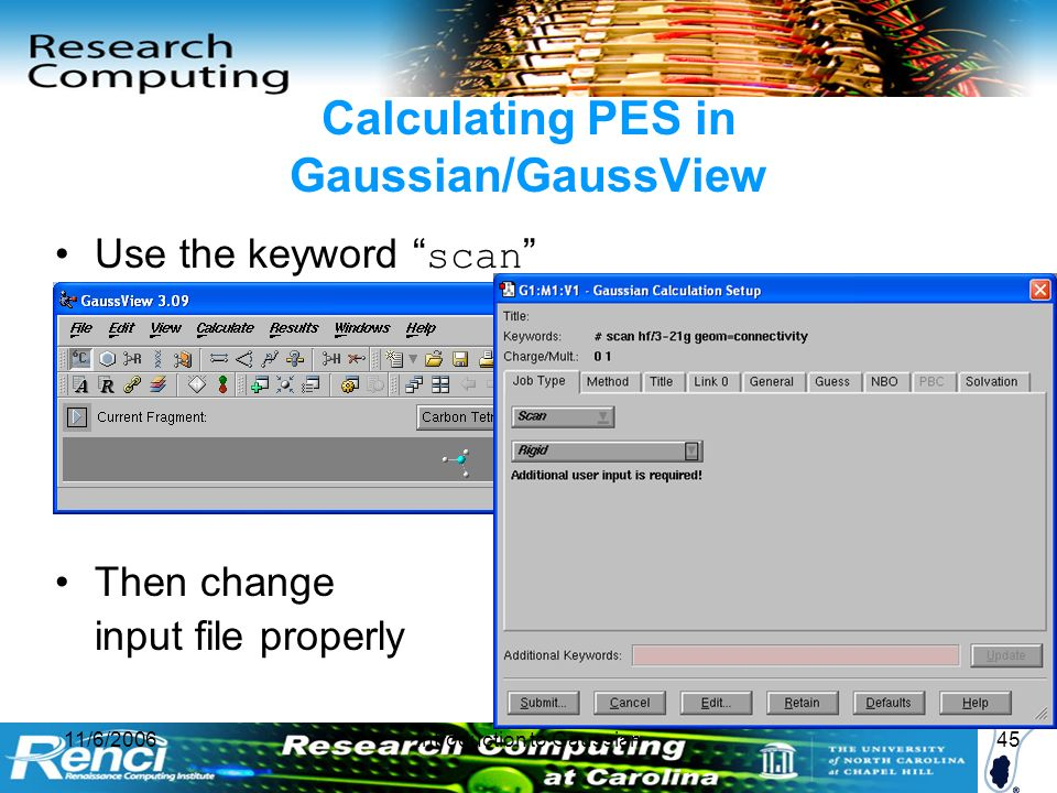 Introduction to Gaussian and GaussView - ppt video online