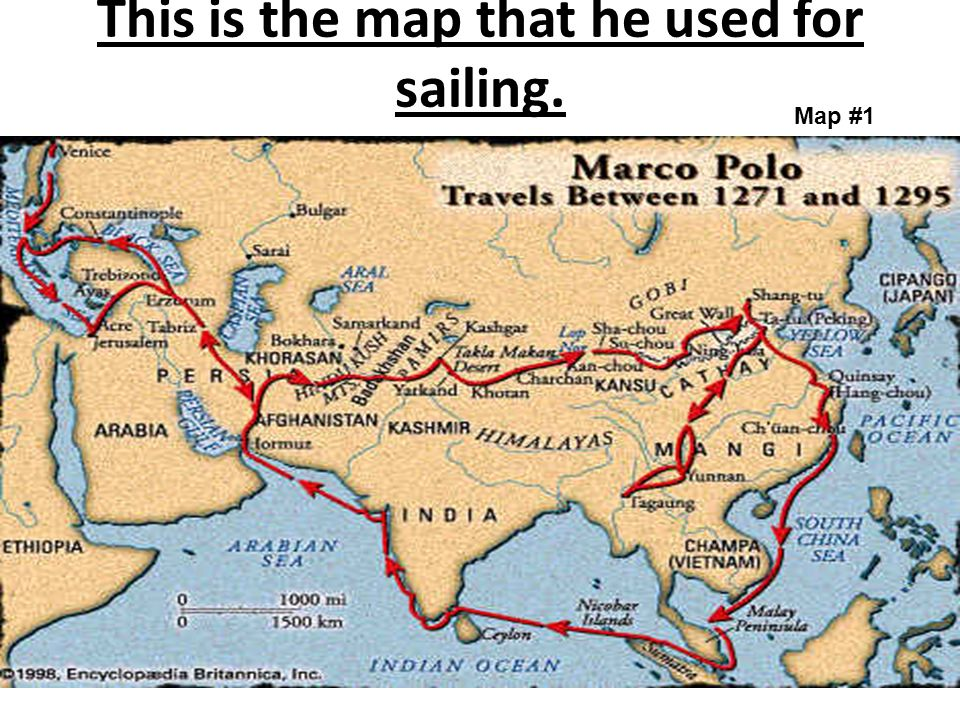 Marco Polo Taniya Craig. - ppt video online download on marco polo china route map, marco polo's expeditions map, big marco polo travel map, trans saharan trade route map, ancient silk road route map, christopher columbus voyage route map, silk road trade route map, marco polo's route on a map, marco polo trade route map,