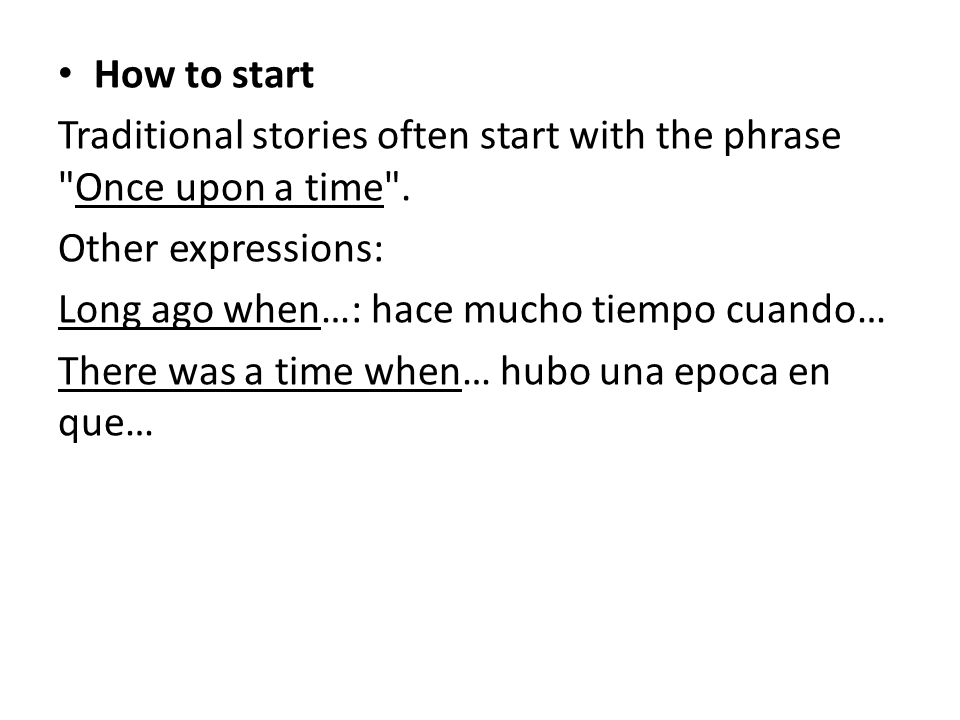 Telling a story in English - ppt download