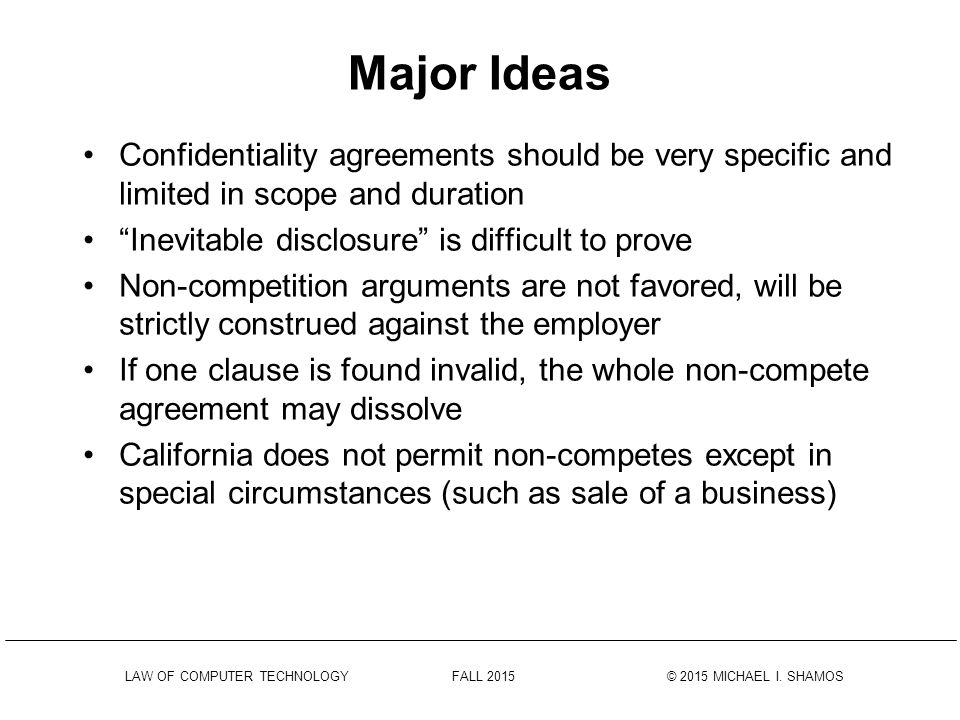 Confidentiality Agreements Ppt Download