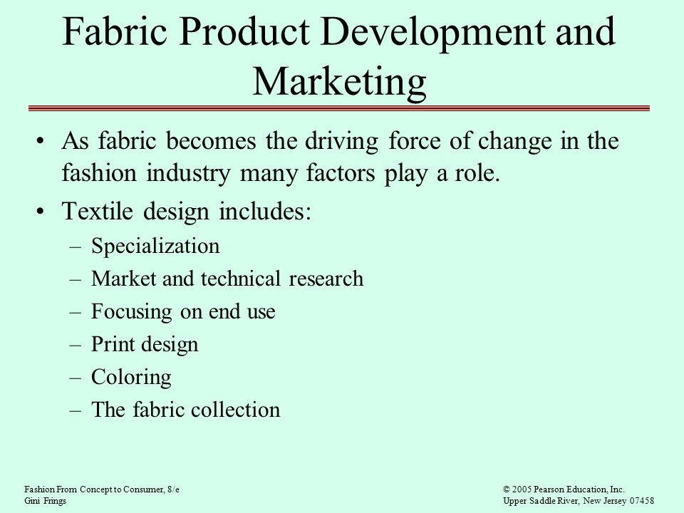 Textile Product Development And Marketing Ppt Video Online Download